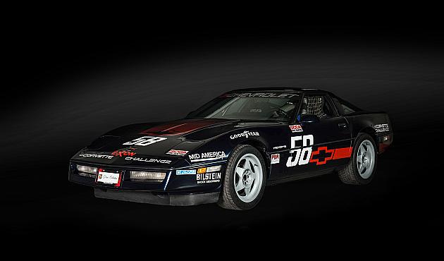Chevrolet Corvette Challenge Race Car