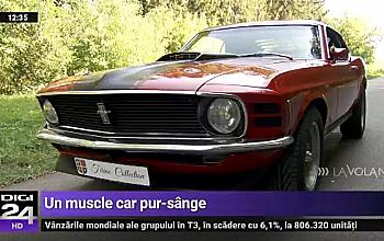 Test-drive cu 1970 Ford Mustang Mach 1, la Digi 24