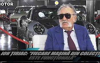 Interviu acordat de domnul Ion Tiriac pentru Promotor despre masinile din Tiriac Collection